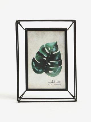 Rama foto metalica neagra minimalista - Sass & Belle Metal
