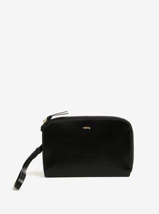 Čierna dámska kožená listová kabelka Bellroy Clutch