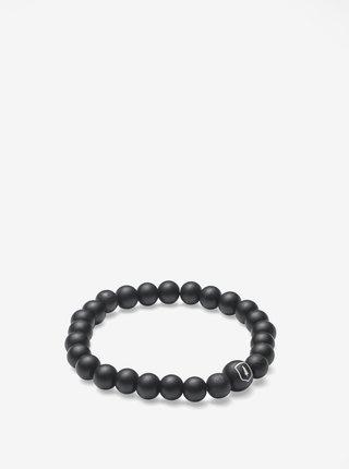 Čierny náramok BeWooden Cassio Bracelet