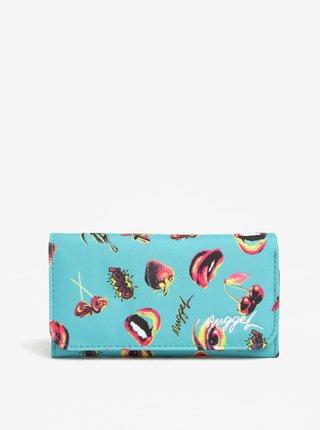 Modrá dámská peněženka s potiskem NUGGET Elise