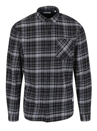 Černo-šedá kostkovaná košile Shine Original