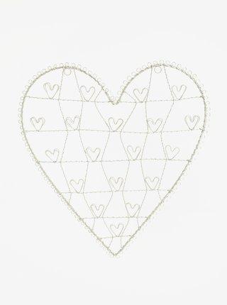 Stojan na fotky ve tvaru srdce Sass & Belle