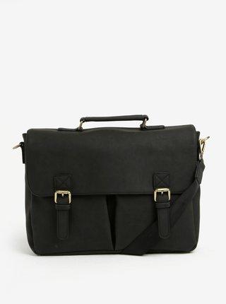 Černá taška s přezkami Bobby Black