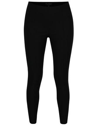 Čierne skrátené nohavice s vysokým pásom Miss Selfridge