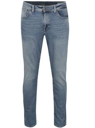 Světle modré slim fit džíny Selected Homme Leon