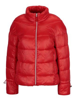 97a715e6314a Červená prešívaná zimná bunda VERO MODA Ramona