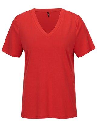 Tricou rosu cu anchior ONLY Venus