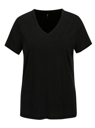 Černé basic volné tričko ONLY Venus