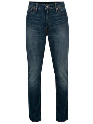 Blugi albastri slim fit cu aspect prespalat pentru barbati - Levi's® 511