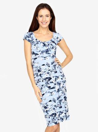 Rochie bleu cu print floral M&Co