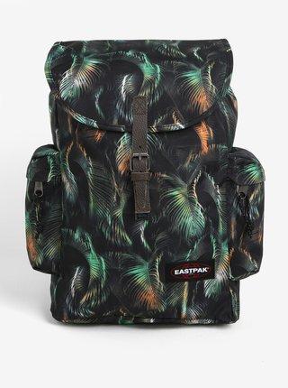 Rucsac negru & verde cu print si clapeta - Eastpak Austin 18 l