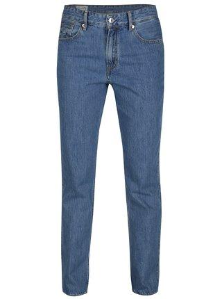 Modré dámské džíny s vysokým pasem Kings of Indigo Kimberley