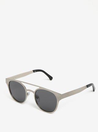 Ochelari de soare argintii pentru barbati Komono Finley
