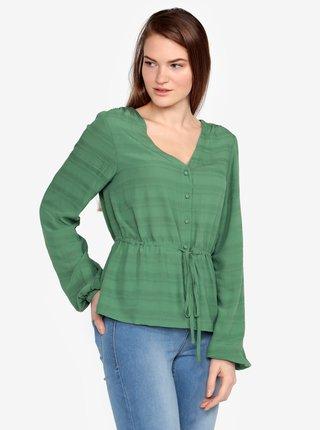 Bluza verde cu model fin - VERO MODA Sophia