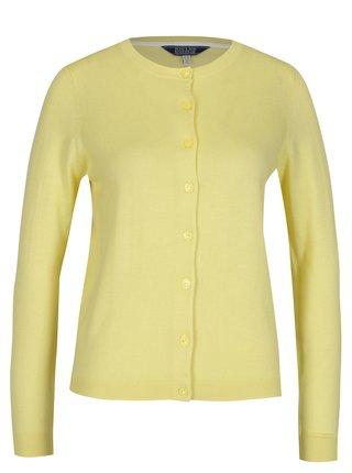 Cardigan crop galben pentru femei - Tom Joule