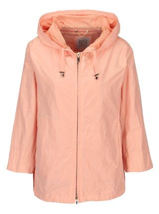 Jacheta roz piersica cu maneci 3/4 si fermoar pentru femei Geox