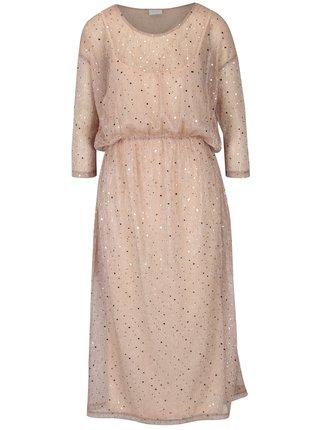 Staroružové šaty s flitrami 2v1 VILA Kyle
