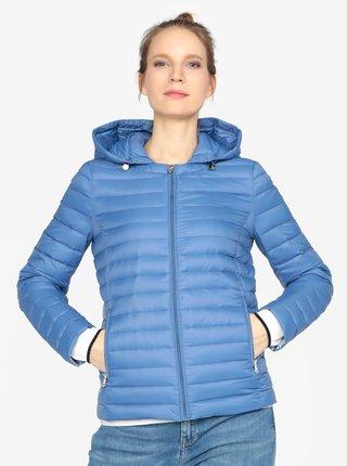 Modrá prošívaná bunda Tommy Hilfiger