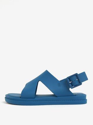 Modré sandále s prackou Melissa Free