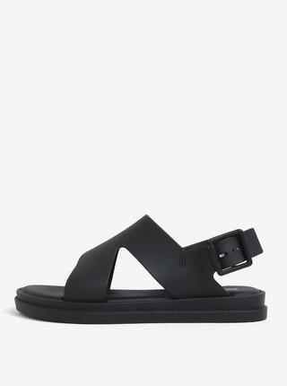 Čierne sandále s prackou Melissa Free