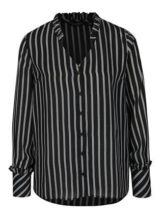 Čierno-biela pruhovaná blúzka Dorothy Perkins