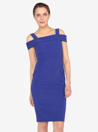Rochie albastra cold shoulder - M&Co