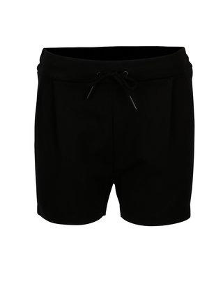 Pantaloni scurti negri pentru femei - VERO MODA Eva