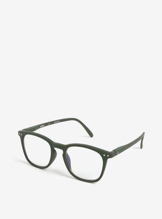 Kaki unisex ochranné okuliare k PC IZIPIZI #E