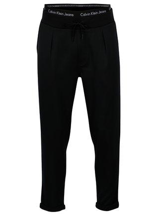 Čierne pánske tepláky Calvin Klein Jeans Halfon