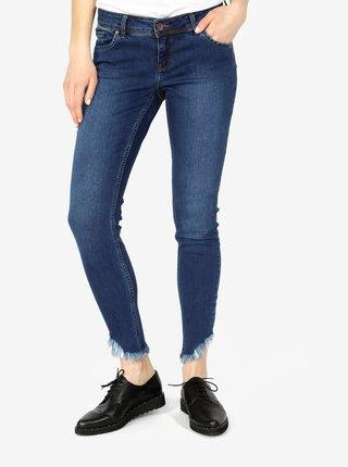 Tmavě modré slim fit džíny VERO MODA Five