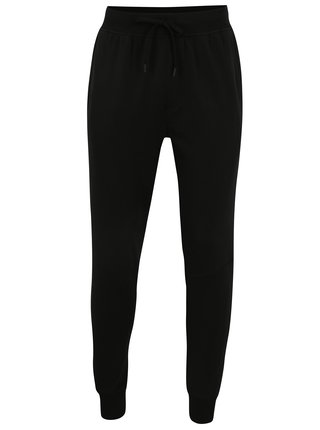 Pantaloni sport negri pentru barbati Under Armour Threadbornet Terry