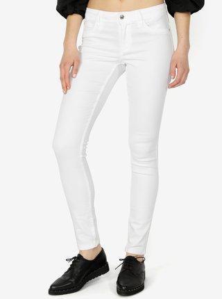 Bílé skinny džíny ONLY Ultimate