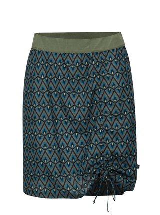 Tmavosivá vzorovaná sukňa Tranquillo Oroya