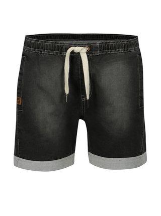 Tmavě šedé dámské džínové kraťasy LOAP Devika