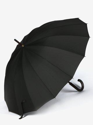 Černý holový deštník Doppler