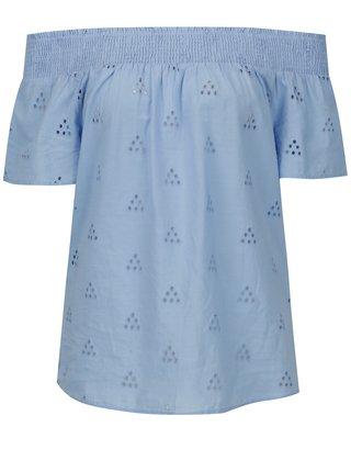 Bluza albastra cu perforatii VERO MODA Romantic