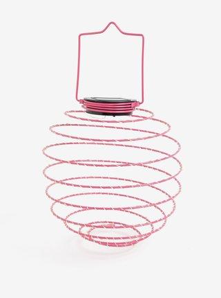 Lampa LED roz cu incarcare solara - Kaemingk