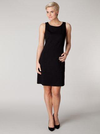 Čierne šaty bez rukávov Yest
