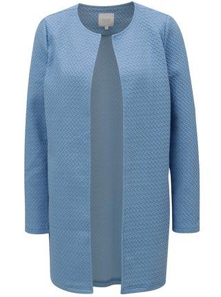 Cardigan albastru cu model in relief VILA Naja