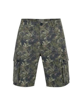 Bermude cargo gri cu print tropical - ONLY & SONS Tony