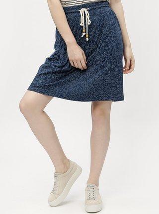 Tmavomodrá dámska vzorovaná sukňa  Ragwear Tigua Organic
