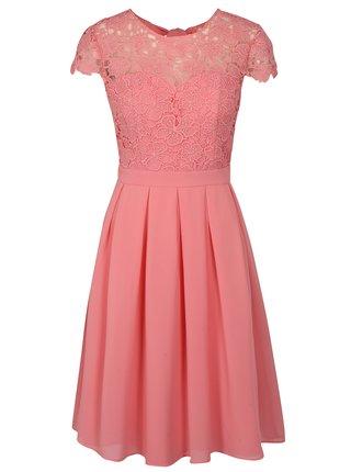 5d4c46cc4320 Ružové šaty Chi Chi London Summer