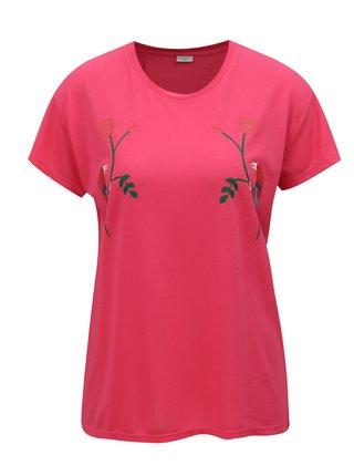 Ružové tričko s potlačou Jacqueline de Yong Nixon
