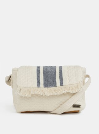 Geanta crossbody crem din in Island Resort