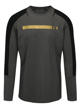 Tricou barbatesc functional negru-gri melanj Under Armour Perpetual