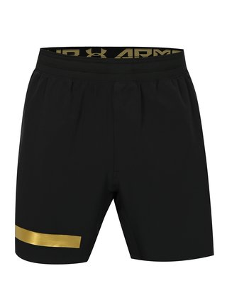 Pantaloni barbatesti scurti functionali negri Under Armour Perpetual