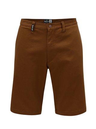 Pantaloni scurti maro pentru barbati MEATFLY Anthrax