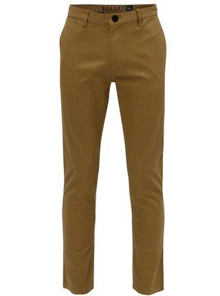 Svetlohnedé pánske nohavice NUGGET Lenchino