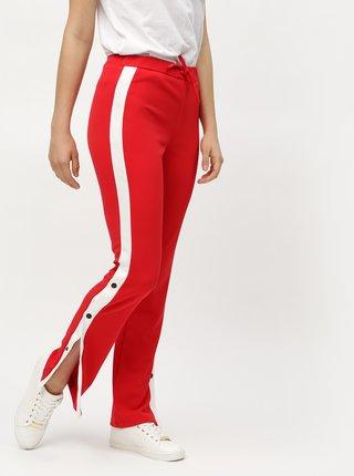 Pantaloni rosii cu talie inalta MISSGUIDED