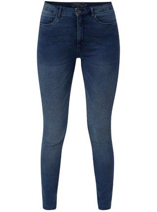 Modré skinny džíny ONLY Royal